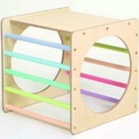 Montessori kuubik – pastell
