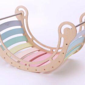Montessori kiik XXL – pastell